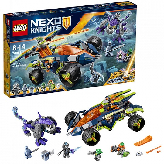 Lego Nexo Knights 70355 Вездеход Аарона 4x4