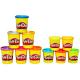 Play-Doh 37058H Набор Пластилина из металлических и неоновых цветов (11 банок)