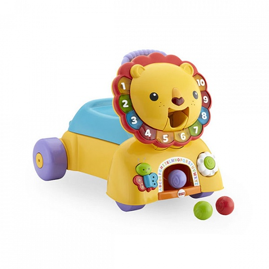 Купить Mattel Fisher-Price DPL61 Фишер Прайс Ходунки Лев