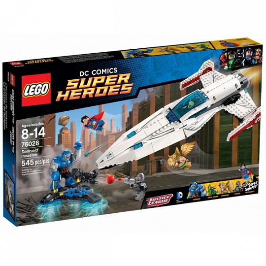Lego Super Heroes Вторжение Дарксайда 76028