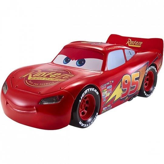 Mattel Cars FGN54 Движущаяся модель МакКуина со световыми и звуковыми эффектами