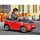 Детский электромобиль Peg-Perego ED1163 FIAT 500 (красный)+ р/у