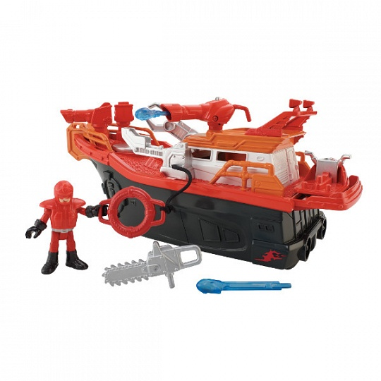 Imaginext CGH88 Пожарный катер