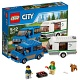 Lego City 60117 Лего Город Фургон и дом на колёсах
