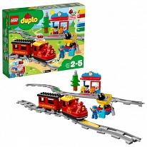 Lego Duplo 10874 Конструктор Лего Дупло Поезд на паровой тяге