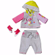 Одежда для интерактивной куклы Zapf Creation Baby born 821-053 Бэби Борн Одежда и обувь для спорта, 2 в ассортименте