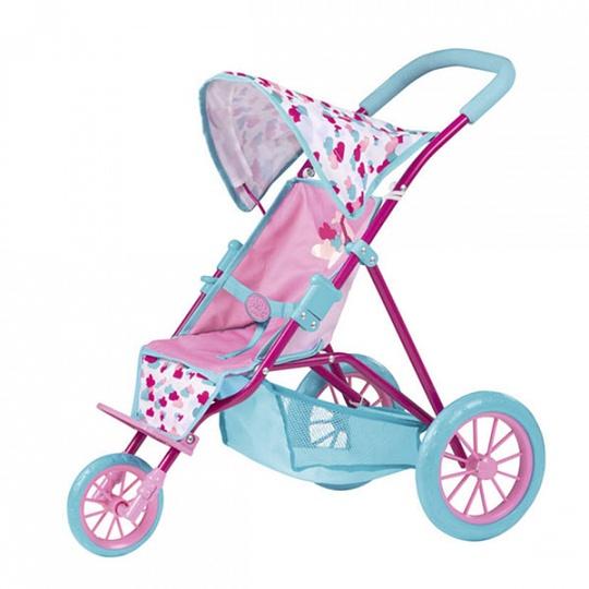 Zapf Creation Baby Born 1423491 Бэби Борн Коляска трехколесная с козырьком