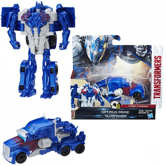 Transformers C0884/C1312 Трансформеры 5: Уан-степ Оптимус Прайм