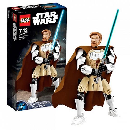 Lego Star Wars Оби-Ван Кеноби 75109