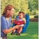 Little Tikes 617973 Литл Тайкс Сиденье для качелей с высокой спинкой и съемным ограничителем