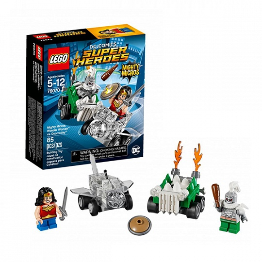 Lego Super Heroes Mighty Micros Чудо-женщина против Думсдэя