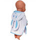 "Zapf Creation Baby born® 808-313 Бэби Борн Банный халат ""Зайка"" (в ассортименте)"
