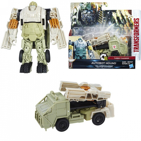 Transformers C0884/C1314 Трансформеры 5: Уан-степ Автобот Хаунд