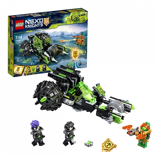 Lego Nexo Knights Боевая машина близнецов 72002