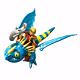 Игровой набор Dragons 66594 Дрэгонс Набор дракон и всадник (в асс-те)