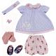 "Zapf Creation Baby Annabell 773-871 Бэби Аннабель Набор одежды de Luxe ""Давай поиграем"""