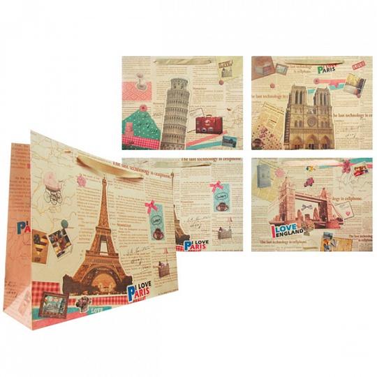 Купить Пакет подарочный бумажный TZ14006 (35*46*14 см)