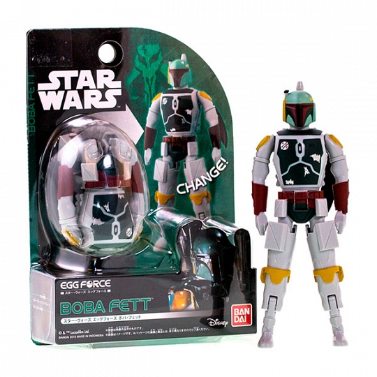 Купить Star Wars Bandai 84645 Звездные Войны Яйцо-Трансформер Боба Фетт