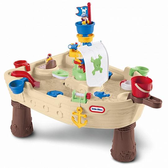 Little Tikes 628566 Игровой стол Пиратский корабль