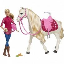 Mattel Barbie FRV36 Барби Кукла и лошадь мечты