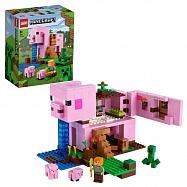 LEGO Minecraft 21170 Конструктор ЛЕГО Майнкрафт Дом-свинья