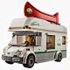 Lego City 60057 Лего Город Дом на колесах