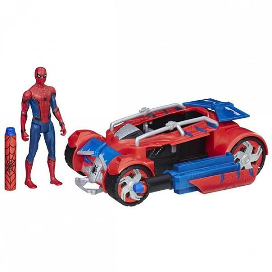 Spider-Man B9703 Транспортное средство Паутинный город 15 см