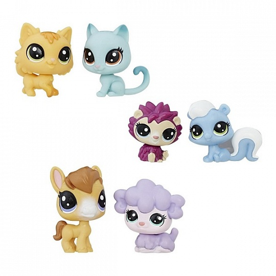 Hasbro Littlest Pet Shop B9389 2 пета