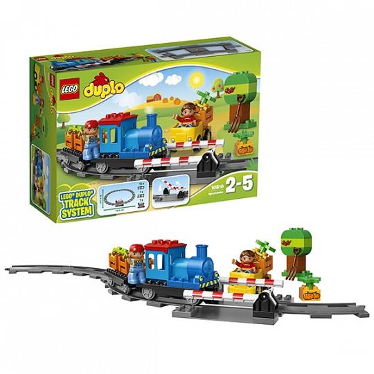 Купить Lego Duplo 10810 Лего Дупло Локомотив