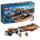 Lego City 60085 Лего Город Внедорожник 4x4 с гоночным катером