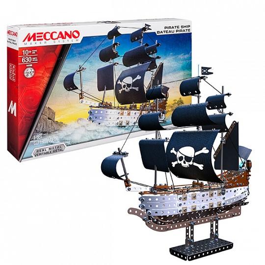 Meccano 91781 Набор Пиратский корабль