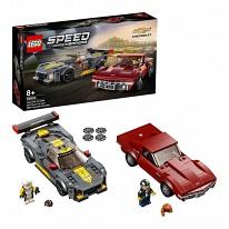 LEGO Speed Champions 76903 Конструктор ЛЕГО Чемпионс Chevrolet Corvette C8.R Race Car and 1968