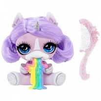 Poopsie Surprise Unicorn 567301-PUR Фиолетовый единорог с волосами c аксессуарами