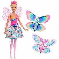 Mattel Barbie FRB08 Барби Фея с летающими крыльями (в ассортименте)