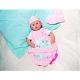 Zapf Creation Baby Annabell 791-622 Бэби Аннабель Одежда и спальный конверт 2 в 1
