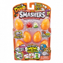 Zuru Smashers 7438 Smashers Дино-сюрприз в яйце, 8 шт