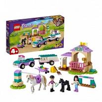 LEGO Friends 41441 Конструктор ЛЕГО Подружки Тренировка лошади и прицеп для перевозки