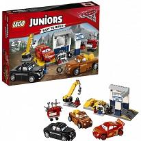 Lego Juniors 10743 Лего Джуниорс Тачки Гараж Смоуки