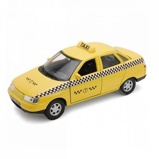 Купить Welly 42385TI Велли Модель машины 1:34-39 LADA 110 ТАКСИ