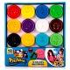 Plastelino 165954 Пластелино Масса для лепки - 12 цветов в наборе + аксессуары