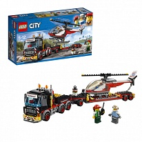 Lego City 60183 Лего Город Перевозчик вертолета