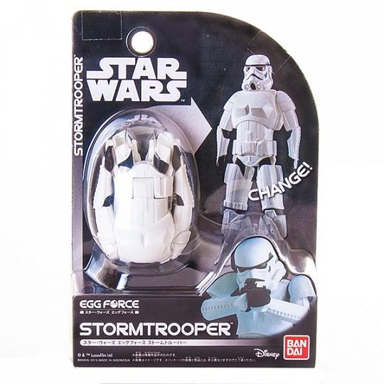 Купить Star Wars Bandai 84546 Звездные Войны Яйцо-Трансформер Штурмовик