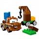 Конструктор Лего Дупло Тачки 5814 Автомобильная свалка Мэтра