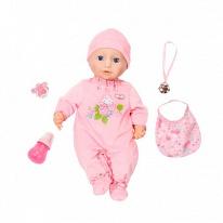 Zapf Creation Baby Annabell 794-821 Бэби Аннабель Кукла многофункциональная, 46 см