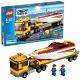 Lego City 4643 Лего Город Перевозчик скоростной моторной лодки
