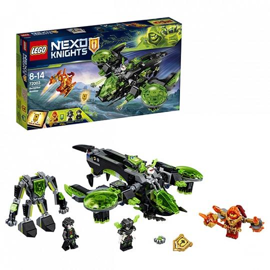 Lego Nexo Knights Неистовый бомбардировщик 72003