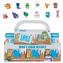 Hasbro Lost Kitties E4665 3 котика