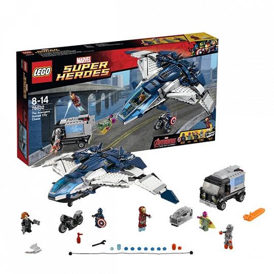 Lego Super Heroes Погоня на Квинджете Мстителей 76032