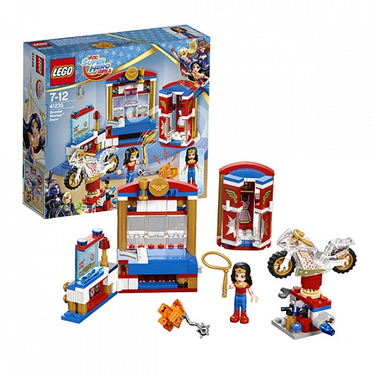 Lego Super Hero Girls 41235 Дом Чудо-женщины