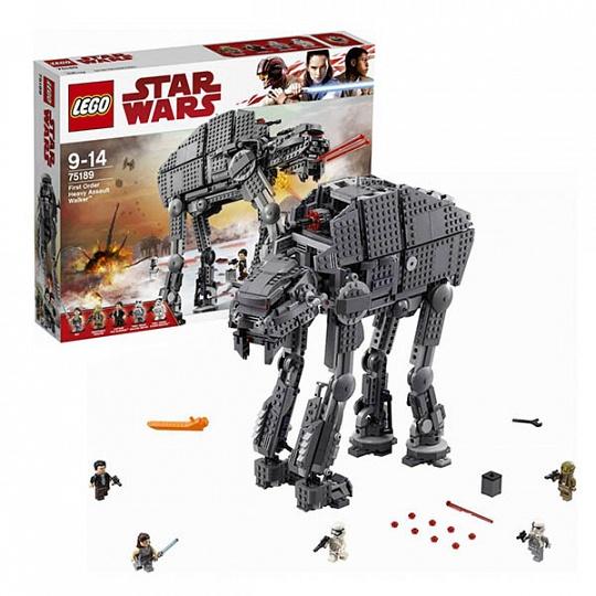 Lego Star Wars 75189 Лего Звездные Войны Штурмовой шагоход Первого Ордена